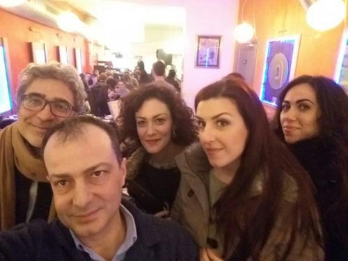 Andrea Concetti, Arianna Vendittelli, Francesca Sassu, Lucia Cesaroni