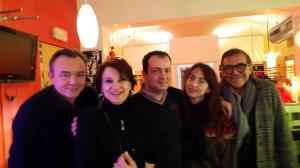 Emanuele Salce, Anita Bartolucci, Chiara Francini, Piero Maccarinelli